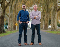 Cannasouth co-founders Mark Lucas and Nick Foreman